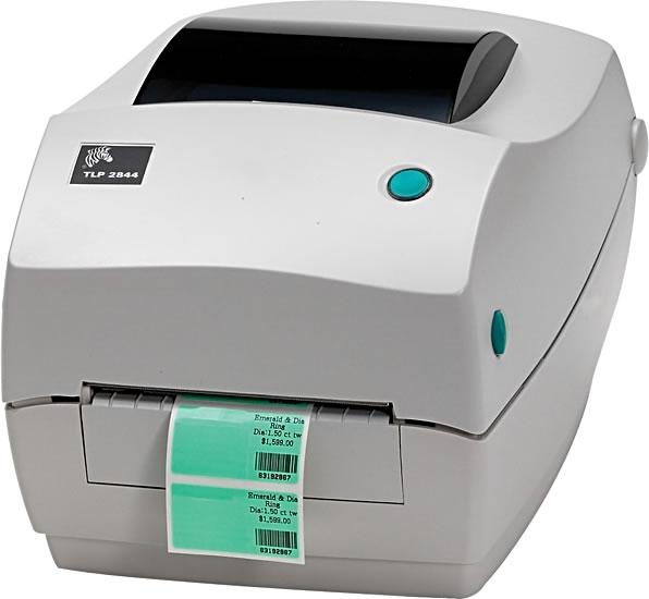 Zebra TLP2844 Etiket Barkod Yazıcı1